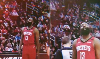 James Harden choqué WTF NBA