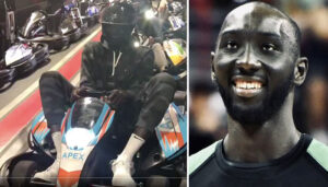 NBA – Tacko Fall fait du karting avec des ados… et bloque tout le monde