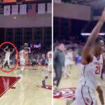 NCAA – Un top prospect NBA marque un panier fou, LaMelo Ball réagit