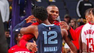 NBA – Ja Morant estime que Westbrook n'est pas assez respecté, Brodie réagit
