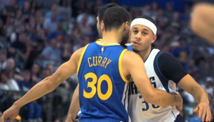 Seth et Steph Curry