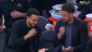 NBA – Quand Klay Thompson et Steph Curry font un pierre-papier-ciseaux pour se départager