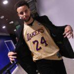 NBA – Les incroyables chaussures de Steph Curry en hommage à Kobe