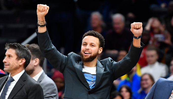 Stephen Curry évoque la date de son retour
