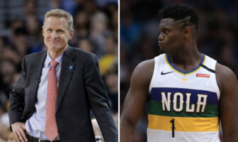 Steve Kerr et Zion Williamson