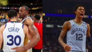 NBA – Ja Morant explique pourquoi il s'en est pris à Iguodala et Curry