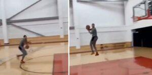 NBA – Zach LaVine s'affiche en répétant un dunk inhumain !