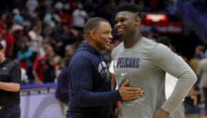 NBA – La promesse du coach des Pels à Zion Williamson