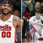 NBA – Darko Milicic répond parfaitement aux moqueries de D-Wade et Melo envers lui