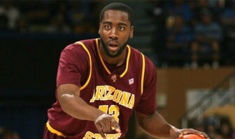 James Harden en 2009 sous le maillot d'Arizona State