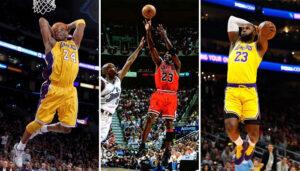 NBA – Jordan, Kobe et LeBron dominent un énorme classement multi-sports !