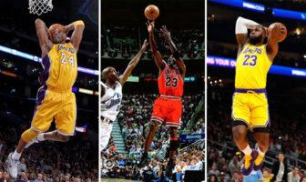 Qui de LeBron James, Kobe Bryant ou Michael Jordan a réalisé la meilleure saison l'année de leurs 35 ans