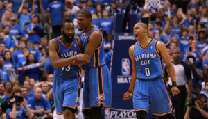 NBA – Comment le Thunder domine Westbrook, Durant et Harden