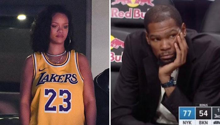 Rihanna a envoyé un beau tacle à Kevin Durant sur Instagram