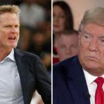 NBA – Steve Kerr détruit encore violemment Donald Trump !