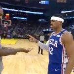 NBA – Le nouveau « coronavirus handshake » des Sixers