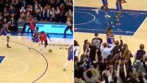 NBA – La grosse défense de Frank Ntilikina sur le tir de l'égalisation de Westbrook