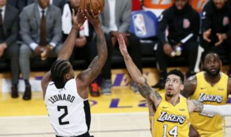 danny green provoque les lakers