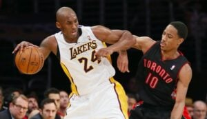 NBA – Quand DeMar DeRozan a rendu fou Kobe avec… ses chaussures