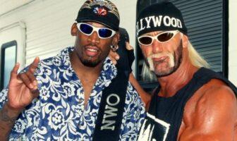 Dennis Rodman et Hulk Hogan