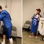 NBA – Eden Hazard ridiculisé pour sa séquence avec Luka et Boban