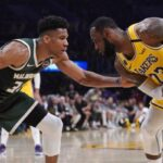 NBA – La violente domination de LeBron contre Giannis