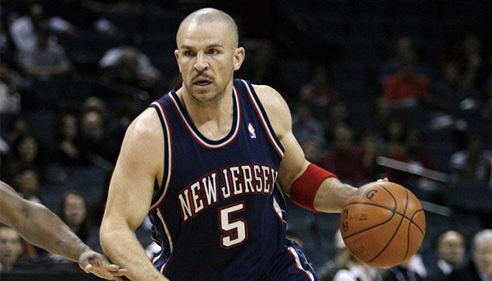 Jason Kidd sous le maillot des New Jersey Nets
