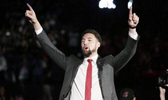 Klay Thompson envoie un message d'espoir aux fans des Warriors