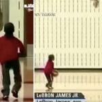 NBA – Une superbe vidéo de LeBron et Bronny, 4 ans, refait surface