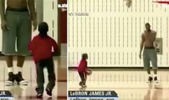 LeBron James Bronny Jr
