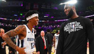 NBA – Le gros compliment de LeBron James pour Ja Morant