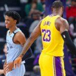 NBA – Ja Morant réagit à la publication virale de LeBron !