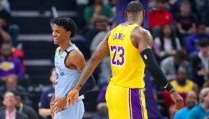 NBA – Le cadeau de LeBron James pour Ja Morant