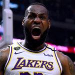 NBA – La phrase guerrière de LeBron aux Lakers après la victoire