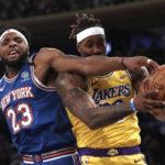 NBA – L'hallucinante statistique concernant les Knicks et les Lakers en playoffs