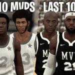 NBA – Les 10 derniers MVP contre les 10 premiers de l'histoire, qui gagne ?