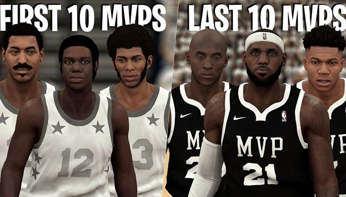 Les 10 derniers MVP contre les 10 premiers de l'histoire, qui gagne ?