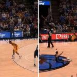 NBA – Le 3-points insolent de Luka Doncic, à 8 mètres avec la faute