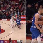 NBA – CJ McCollum et Alex Len en viennent aux mains !