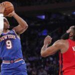 NBA – James Harden cible un joueur des Knicks en particulier après la défaite