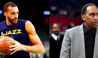 stephen a. smith tacle rudy gobert
