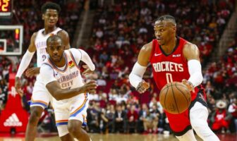 duel entre russell westbrook et chris paul