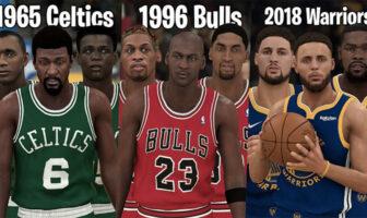 Les meilleures équipes all-time s'affrontent en playoffs : qui gagne ?