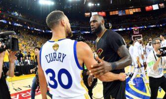 Steph Curry et LeBron James
