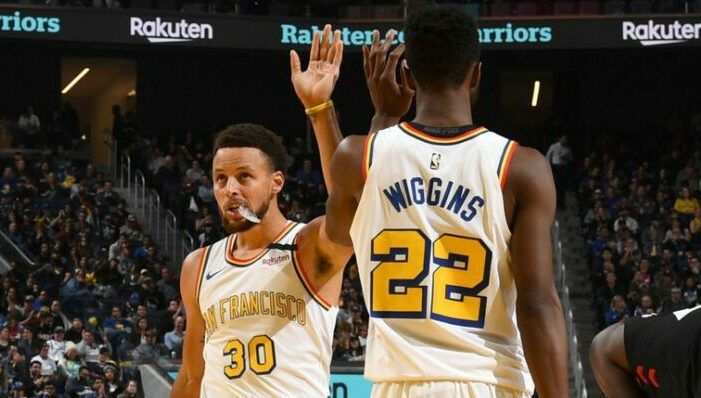 wiggins check stephen curry