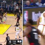 NBA – La magnifique passe dans le dos de Steph Curry