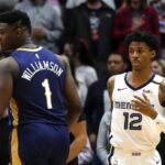 NBA – Zion Williamson domine son duel à distance contre Ja Morant !