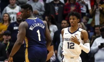 Zion Williamson et Ja Morant
