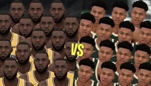 NBA – 15 LeBron vs. 15 Giannis, quelle équipe gagne ?