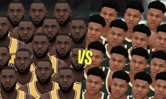 NBA - 15 LeBron vs. 15 Giannis, quelle équipe gagne ?
